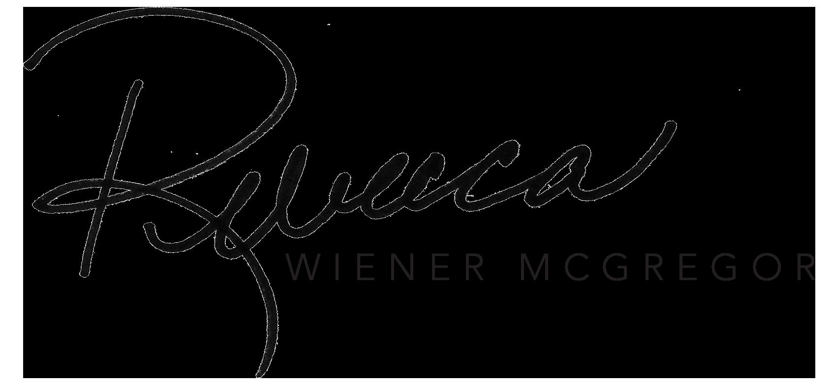 Rebecca Wiener McGregor